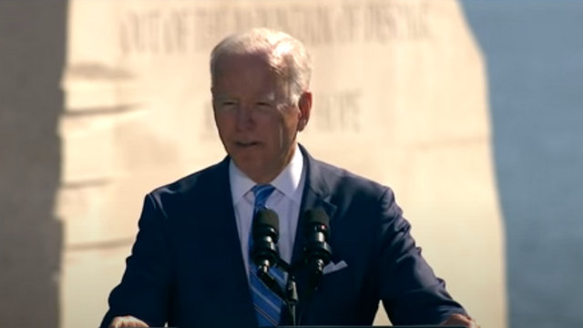 President Biden at the 10th Anniversary Celebration of the Dedication of the Dr. Martin Luther King, Jr., Memorial